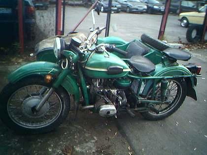Мотоцикл Урал ИМЗ-8.103-10. Из